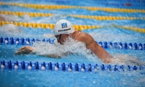 Лидер сборной Казахстана по плаванию Баландин завоевал лицензию на Олимпиаду-2020