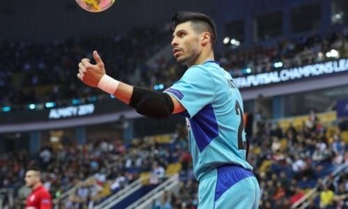 Игрок «Кайрата» признан лучшим в финальном раунде Лиги Чемпионов