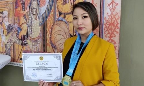 Гулисхан Нахбаева стала семикратной чемпионкой Казахстана и нацелилась на рекорд