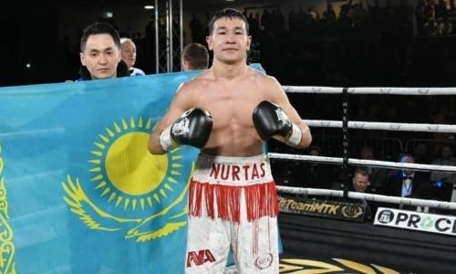 «Не допускал мысли, что бой могут отдать сопернику». Как казахстанский боксер победил чемпиона Европы