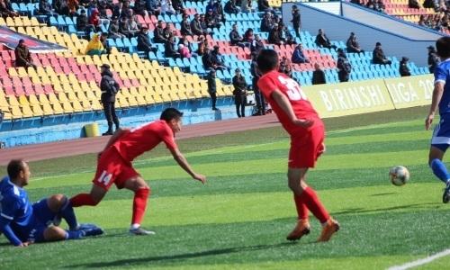 «Актобе-Жас» и «Кызыл-Жар СК» голов не забили в матче Первой лиги