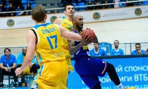 «Астана» проиграла первый матч плей-офф ВТБ с «Химками»