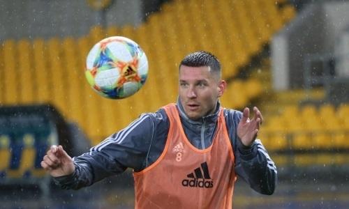 Защитник «Тобола» выбыл на месяц после матча с «Кайратом»