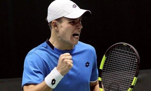 Казахстанский теннисист выиграл турнир в США и продолжил бить личные рекорды