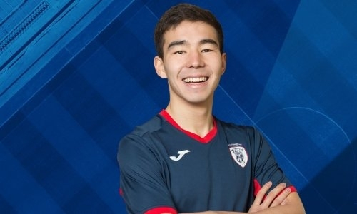 Молодой казахстанский футболист отличился дублем взарубежном клубе