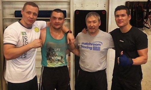Елеусинов помогает казахстанскому боксеру готовиться к дебюту в профи