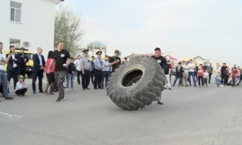 Открытый турнир по силовому экстриму прошел в Атырауской области