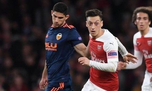 «Qazsport» покажет прямую трансляцию матча «Валенсия» — «Арсенал» в полуфинале Лиги Европы