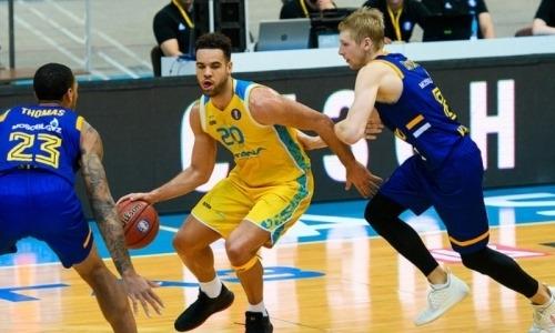«Астана» проиграла в третьем матче подряд серии с «Химками» и вылетела из плей-офф ВТБ