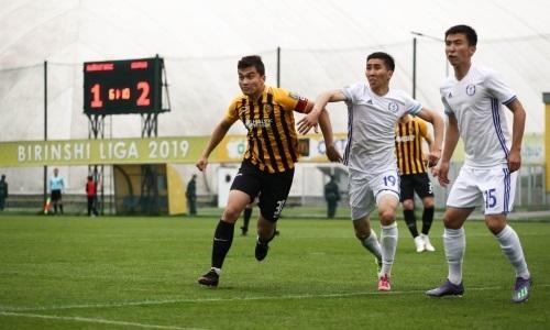«Кайрат-Жастар» на выезде разгромил «Мактаарал» в матче Первой лиги