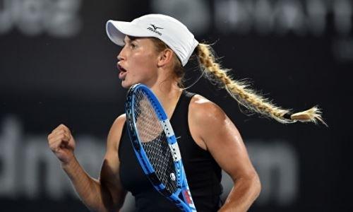 Казахстанские теннисистки поднялись в рейтинге WTA