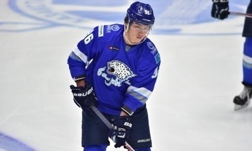 «Барыс» сохранил нападающего сборной Казахстана