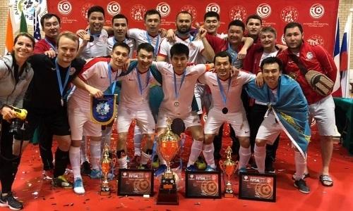 Казахстанцы стали обладателями Межконтинентального кубка