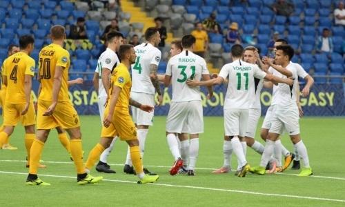 «Атырау» обыграл «Кайрат» впервые за семь матчей