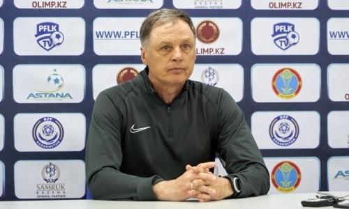 «Мы оказались не готовы». Тренер «Иртыша» надеется на восстановление травмированных игроков к матчу с «Кайратом»