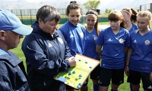 Наставник женской сборной Казахстана до 17 лет подвела итоги УТС