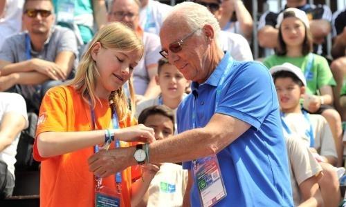 Воспитанники футбольного центра «Астана» встретятся с обладателем двух «Золотых мячей»