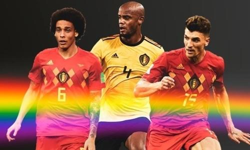 Сборная Бельгии перед матчем с Казахстаном поддержала людей с нетрадиционной сексуальной ориентацией