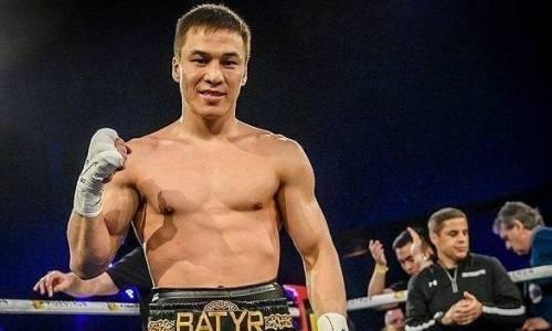 Казахстанский нокаутер Батыр Джукембаев за раунд «удосрочил» мексиканца