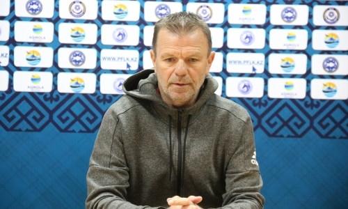 «Мы не успели забить третий гол». Наставник «Кайсара» назвал ошибки в матче с «Окжетпесом»