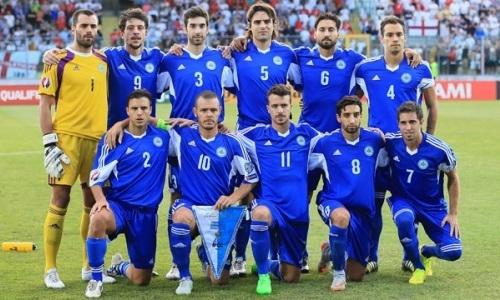 Сборная Сан-Марино вызвала 15 футболистов на первый сбор перед матчем с Казахстаном