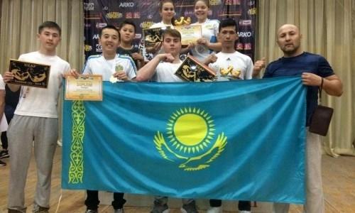 Спортсмены из Актау стали призерами чемпионата Узбекистана по армрестлингу