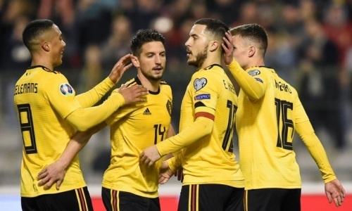 Сборная Бельгии объявила состав на матч отбора ЕВРО-2020 с Казахстаном