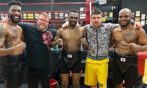 «Крепкие раунды». Украинский боксер помогает Роллсу настроиться на Головкина