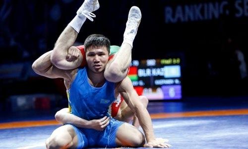 Борцы сборной Казахстана выиграли девять медалей на рейтинговом турнире в Италии