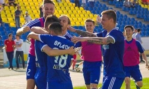 «Акжайык» на выезде переиграл «Мактаарал» в матче Первой лиги