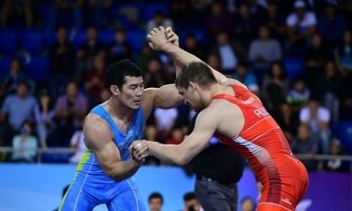 Казахстанские борцы завоевали три медали на международном турнире по греко-римской борьбе