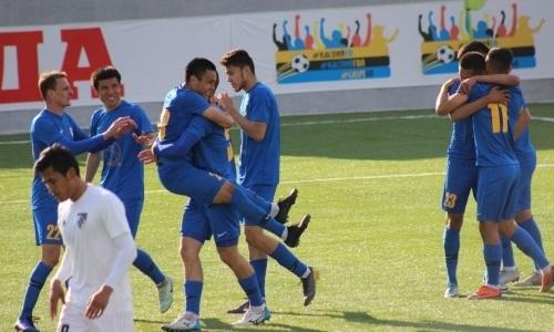 «Каспий» переиграл молодежку «Астаны» в матче Первой лиги