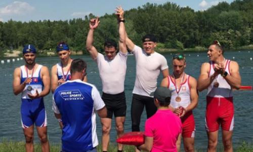 На международной регате в Братиславе карагандинские спортсмены завоевали семь медалей