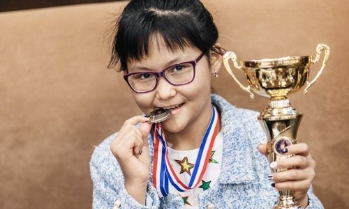 Талантливая казахстанка заняла третье место на международном турнире в Ташкенте