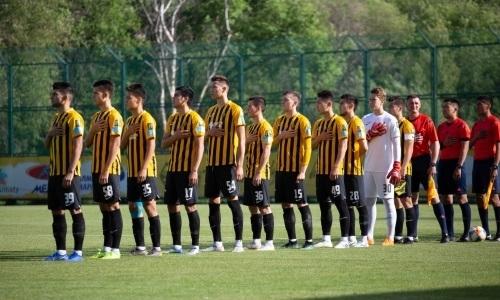 «Кайрат-Жастар» минимально обыграл «Академию Оңтүстік» в матче Первой лиги