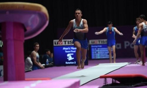 Казахстанец завоевал «серебро» на этапе Кубка мира по спортивной гимнастике