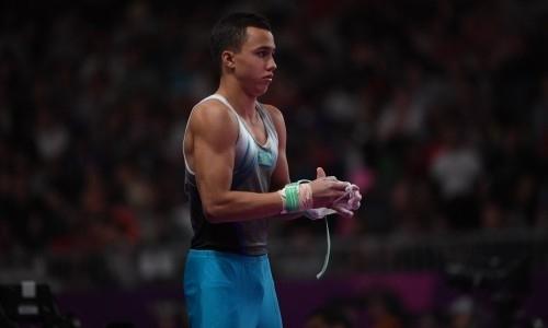 Казахстанец Милад Карими завоевал вторую медаль на этапе Кубка мира по спортивной гимнастике