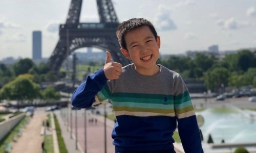 Восьмилетний казахстанец завоевал «золото» на чемпионате во Франции