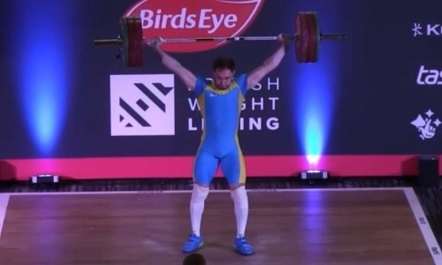 Тяжелоатлет Уланов завоевал золотую медаль на турнире British International