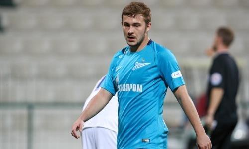 «Кайрат» заинтересовался футболистом «Зенита»