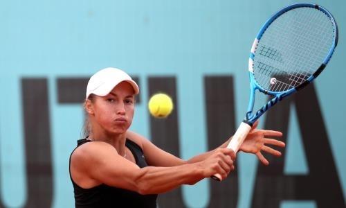 Путинцева потеряла 15 позиций в рейтинге WTA