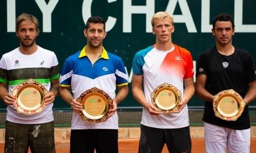 Стали известны победители турнира ATP Challenger в Алматы