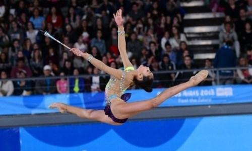 Казахстанская гимнастка выиграла международный турнир в Шымкенте