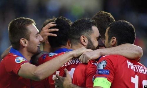 Гол и два ассиста футболистов КПЛ принесли Армении победу над экс-чемпионом Европы