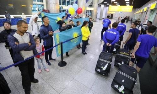 Молодежная сборная вернулась в Казахстан после гостевых побед в отборе ЕВРО-2021