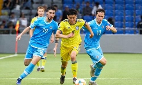 Игроки сборной Казахстана вошли в символическую сборную четвертого тура отбора ЕВРО-2020