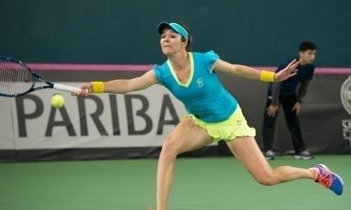 Воскобоева не сумела выйти в полуфинал турнира в Нидерландах в парном разряде