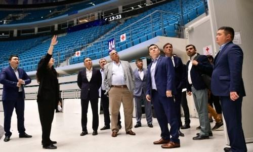 Член исполкома МОК инспектирует готовность столицы Казахстана к проведению ЧМ-2019