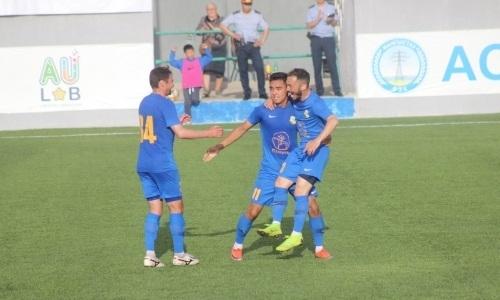 «Каспий» переиграл аутсайдера Первой лиги