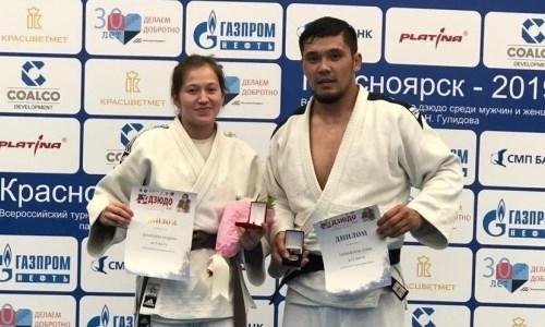 Казахстанский дзюдоист стал победителем международного турнира в России
